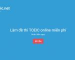 Download đề thi TOEIC có đáp án – Làm đề thi TOEIC online